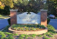 Beverly Woods Sign