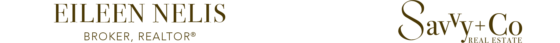 Eileen Nelis, Broker, REALTOR® Logo